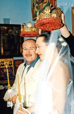 «Через год после свадьбы мы обвенчались». 2003 г.