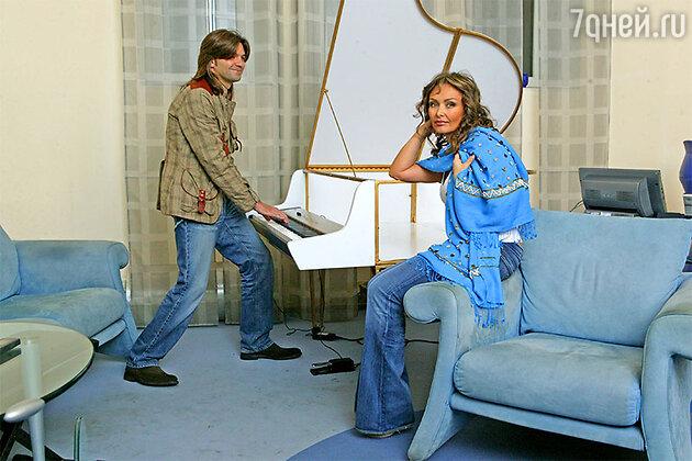 Дмитрий с женой Еленой