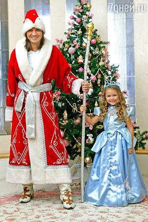 Дед Мороз — Маликов и Золушка — Стефания к новогоднему выходу готовы!