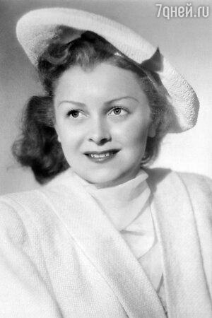 Людмила Целиковская в 1934 году