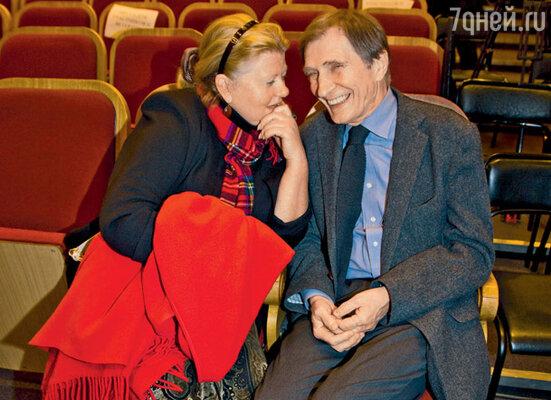 За общением Ирина Муравьева и Игорь Ясулович не заметили, что праздник закончился