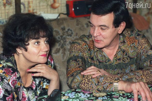 Мусим Магомаев и Тамара Синявская
