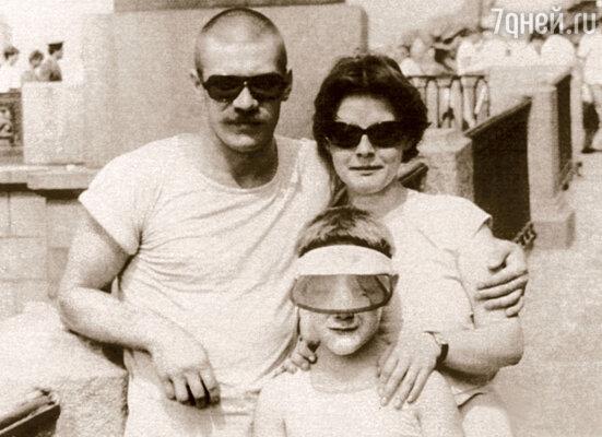 Андрей Краско с Мириам и  сыном Иваном