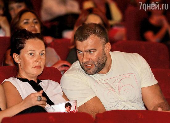 Михаил Пореченков с женой Ольгой, которую Краско называл Лелей