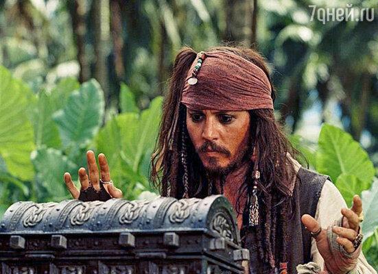 Кадр из фильма «Пираты Карибского моря-2»