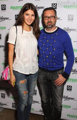 Алексей Рыжов с женой