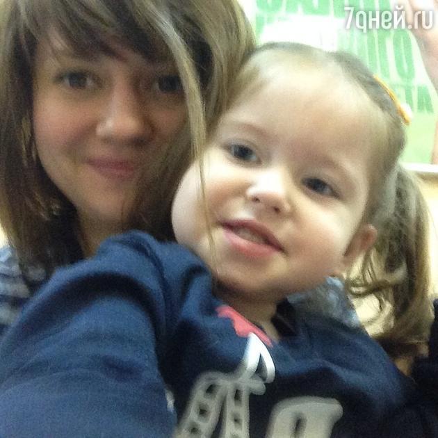 Анна Руднева с дочерью