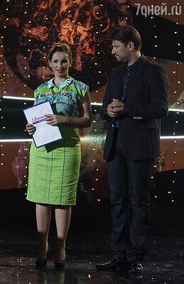 С Виктором Логиновым на съемках программы «Любовь по звездам»