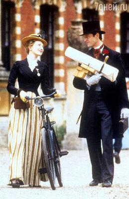 Джереми Нортэм и Кейт Бланшетт в фильме «Идеальный муж». 1999 год