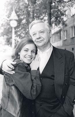 Марина Зудина и Олег Табаков. 1994 г.