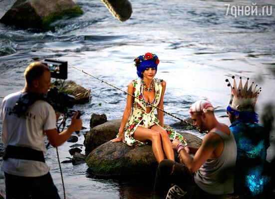 Сергей Зверев  на съемках реалити-шоу «Fashion Каникулы»
