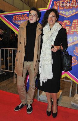 Алиса Толкачева с сыном
