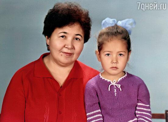 С любимой бабушкой