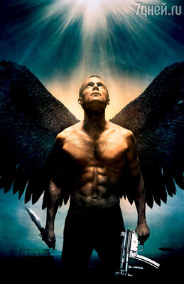 Пол Беттани в фантастическом боевике «Легион». 2009 г.