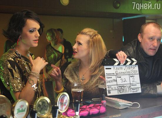 Новый клип Славы можно смело назвать кинематографическим: «киношные» сценарий и режиссер, да и почти весь состав съемочной группы имел опыт работы в кино