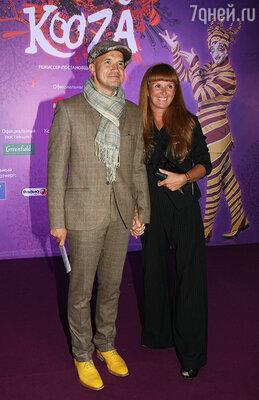 Егор Дружинин с женой