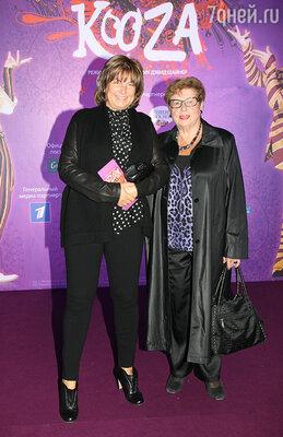 Надежда Соловьёва с мамой