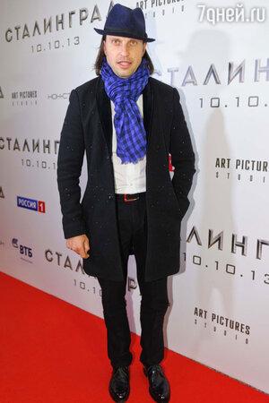 Александр Ревва на на премьере фильма «Сталинград»