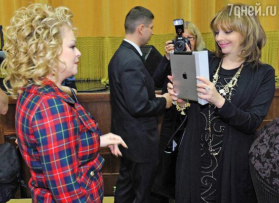 Екатерина Рождественская и Лариса Долина