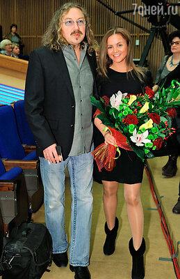 Игорь Николаев с женой Юлией