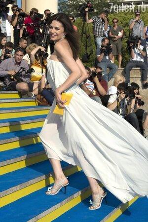 Оксана Фандера на церемонии закрытия «Кинотавра» в 2012 году