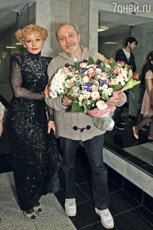 Юлия Пересильд и Сергей Сенин