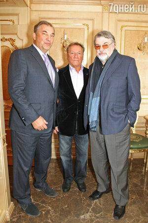 Владислав Третьяк, Сергей Шакуров и Александр Ширвиндт