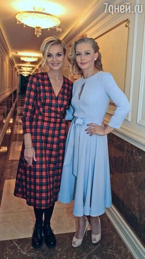 Полина Гагарина и Юлия Пересильд