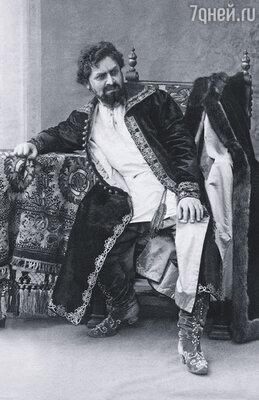Кто бы мог подумать, что новый директор Императорских театров князь Волконский выставит Мамонта  из Александринки? Дальский в роли Иоанна IV