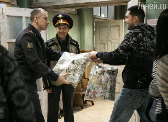 Кадр сериала «Однажды в милиции»