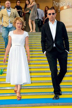 Виктория Толстоганова  с  Алексеем Аграновичем