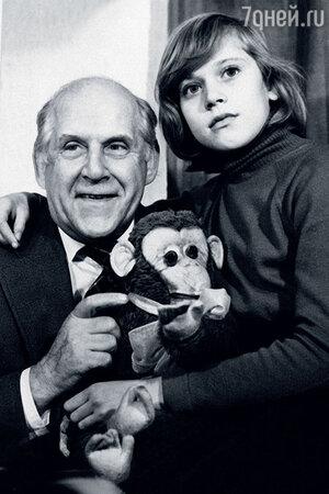Варвара Владимирова со своим дедом