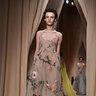 Модель показа Valentino Couture