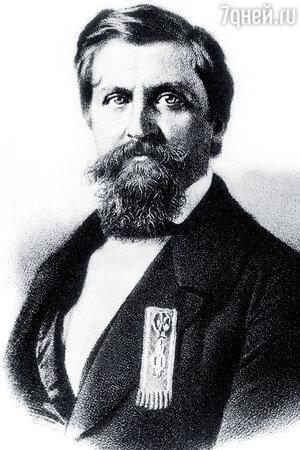 Фото репродукции портрета Жоржа Шарля Дантеса де Геккерна