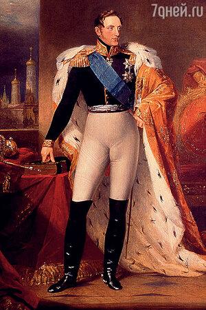 Фото репродукции портрета Николая I