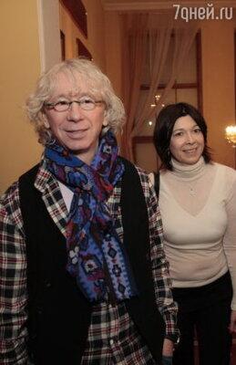 Аркадий Укупник с супругой