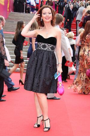 Елена Захарова  на закрытии 30-го Московского международного кинофестиваля. 2008 год