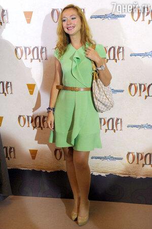 Елена Захарова  на премьере фильма «Орда». 2012 год