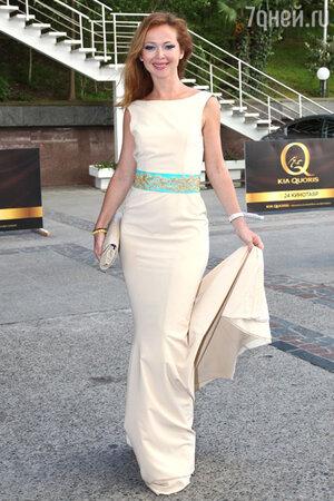 Елена Захарова на кинофестивале  «Кинотавр». 2013 год