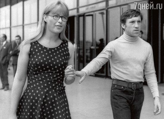 Владимир Высоцкий с  Мариной Влади», 1968 год