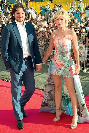 Ирина Гринева и ее супруг Максим Шабалин