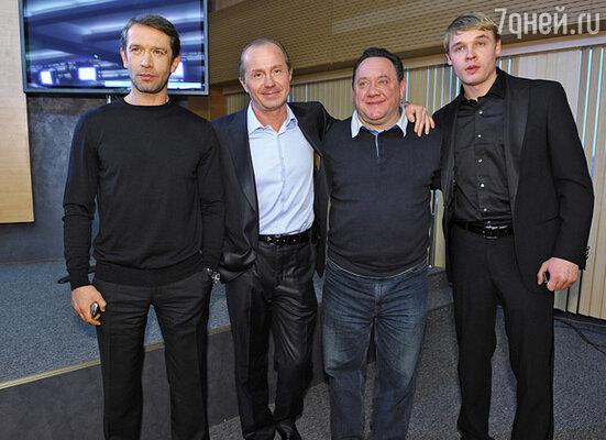 Владимир Машков, Андрей Панин, Богдан Бенюк, Александр Голубев