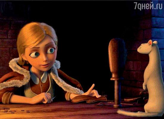 Кадр из мультфильма «Снежная королева»