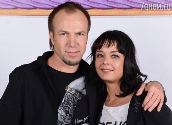 Юлия Захарова с Александром Дорониным