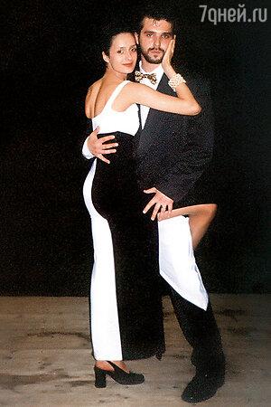 Сергей Новиков и Виктория Исакова