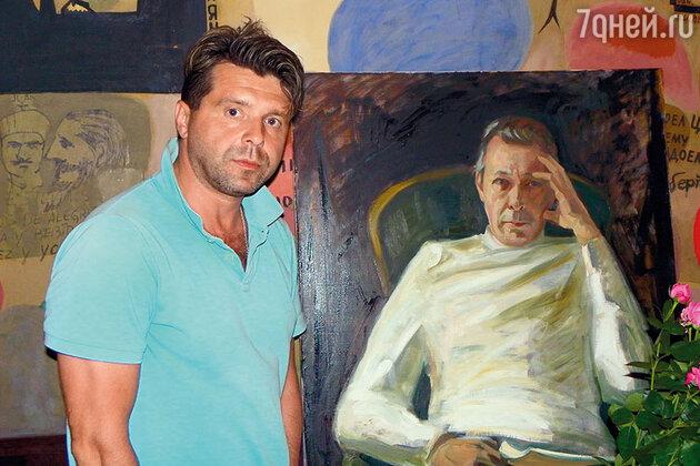 Портрет Олега Ефремова