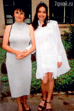Надежда Грановская с мамой Галиной Анатольевной