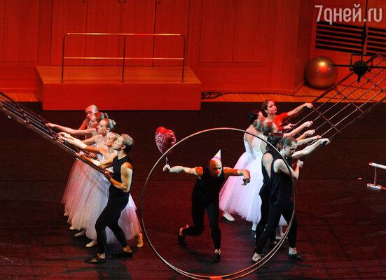 В постановке приняли участие прима-балерина Большого театра Мария Аллаш и легенда русского балета Фарух Рузиматов