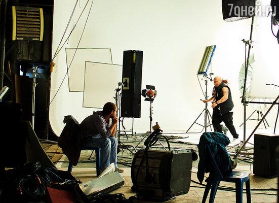 Съемки  клипа  на песню «Держи меня за руку!»