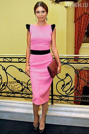 Виктория Боня на «Голливудском вечере Александра Васильева» в Москве. 2013 г.
